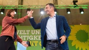 Die unsichere Ernte der Grünen