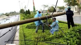 Tropensturm trifft Vietnam