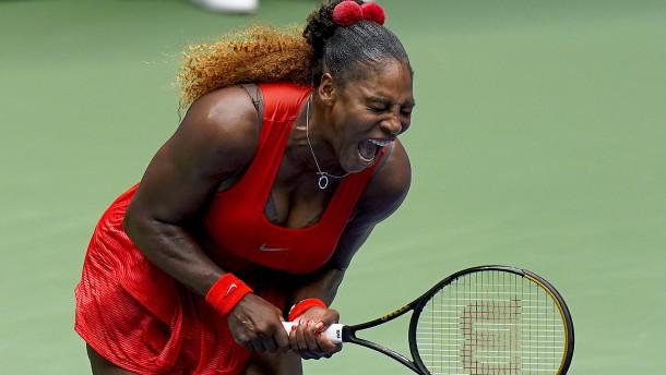 Serena Williams gewinnt das Duell der Mütter