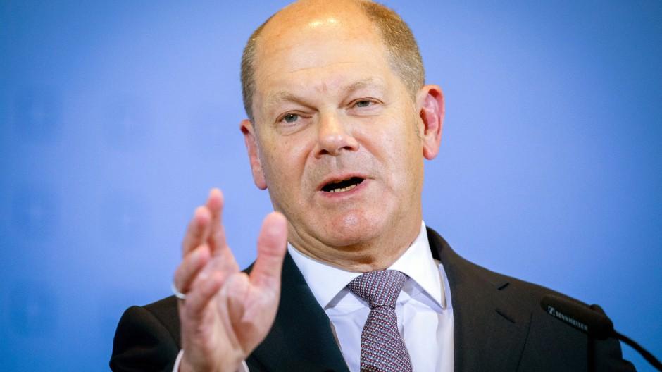 Freut sich über das Geld der Anleger: Bundesfinanzminister Olaf Scholz (SPD)