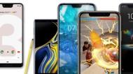 Zehn Smartphones im Vergleich