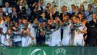 so sehen sieger aus die deutsche mannschaft ist europameister U19 EM: DFB Junioren sind Europameister