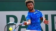 Maxime Hamou scheitert in der ersten Runde bei den French Open an Pablo Cuevas.