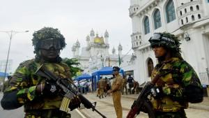 Explosionen bei Razzia in Sri Lanka