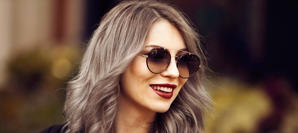 Neue Trend Haarfarbe 2015 Bei Frauen Ist Grau