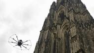 Untersuchung mit der Drohne