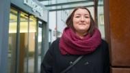 Eintritt ins neue Leben: Im Krankenhaus Sachsenhausen hat sich Madelaine Geibel den Magen verkleinern lassen.