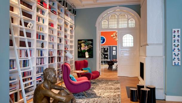 galeristenwohnung in berlin jetzt wird s bunt wohnen faz. Black Bedroom Furniture Sets. Home Design Ideas