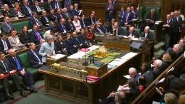 Parlament stimmt über drei Brexit-Änderungsanträge ab