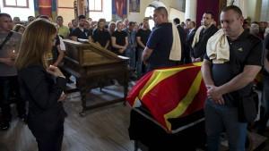 Innenministerin von Mazedonien tritt zurück