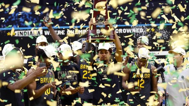 Baylor Bears gewinnen amerikanischen College-Titel