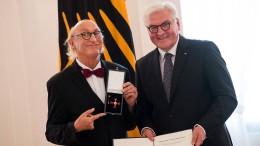 Slapstick mit Bundesverdienstkreuz