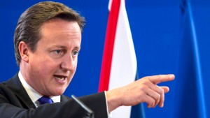 "Cameron kritisiert  ""zu viel Europa"""
