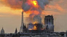 Diese Brände haben die Kulturwelt geschockt