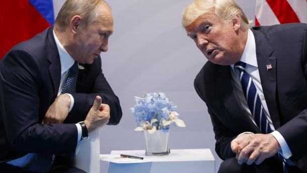 Putin autorisierte Schmutzkampagne gegen Biden