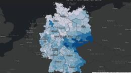 Sachsen und Thüringen am stärksten von Pandemie betroffen