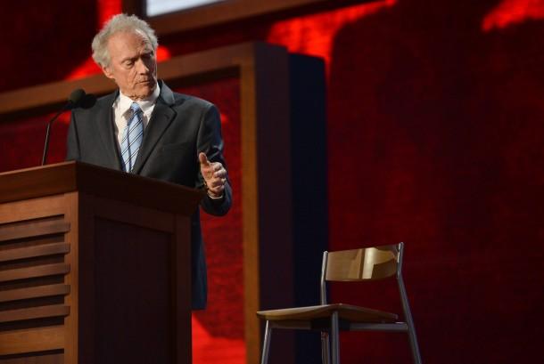 Clint Eastwood scherzt über Alterssenilität