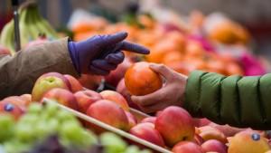 Teurere Lebensmittel erhöhen Inflationsrate