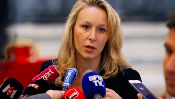 Marine Le Pens Nichte zieht sich aus der Politik zurück