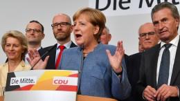 Merkel möchte Wähler von der AfD zurückholen