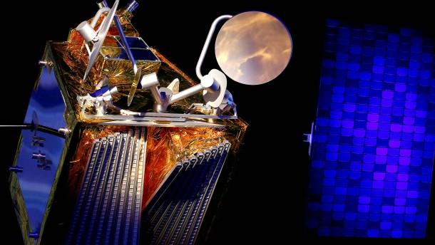Rakete bringt Satelliten für weltweites Internet ins All