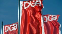 DGB fordert Milliarden als Krisenhilfe