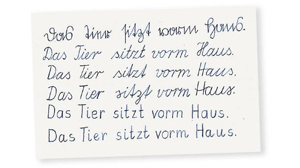 Druckbuchstaben nur groß oder auch klein Schule Schrift