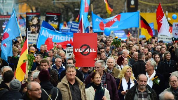 Ist Merkels Abschied der Untergang der AfD?