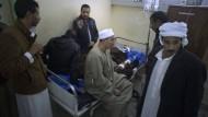 Verletzte nach dem Anschlag in Ägypten
