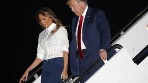 Trump verteidigt Annäherung an Putin