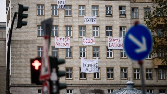 Kampf um Berliner Karl-Marx-Allee