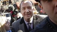 Trat jetzt in Rom auf: Kevin Spacey, hier vor dem Gericht in Nantucket