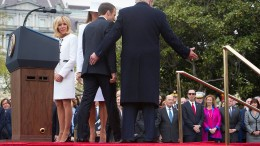 Trump lädt Macron auf den roten Teppich