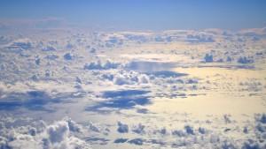 Wolken der Karibik, was treibt ihr da?