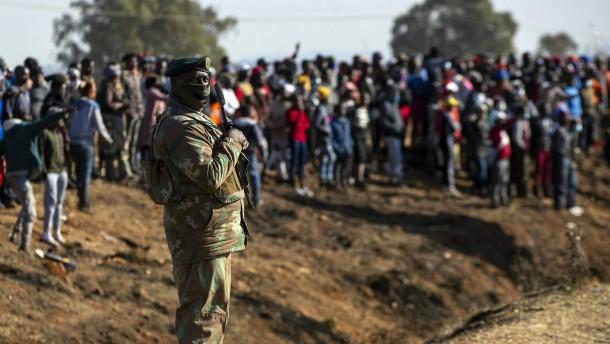 Mehr als 200 Tote nach Ausschreitungen in Südafrika