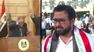Schuhwerfer will ins irakische Parlament
