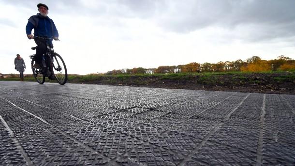 Deutschland hat jetzt einen Solarradweg