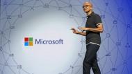 Satya Nadella ist der Chef des wertvollsten Unternehmens der Welt – Microsoft.
