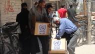 Vereinte Nationen müssen Rationen für Flüchtlinge kürzen