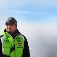 In Deutschland ist alles ein paar Nummern kleiner: Der Österreicher Mathias Bertold will die Flaute der Abfahrer beenden