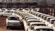 Wie viele Trabis die DDR baute