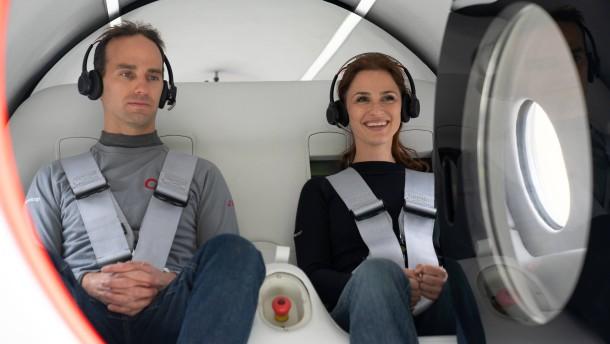 Virgin Hyperloop testet Passagierfahrt