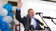AfD-Spitzenkandidat Pazderski spricht nach der Wahl in Berlin von großen Zielen.