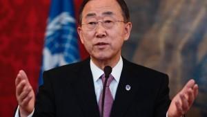 Ban spricht von Verbrechen gegen die Menschlichkeit