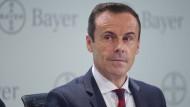 Liam Condon im Februar 2017 bei der Bayer-Bilanzpressekonferenz in Leverkusen.