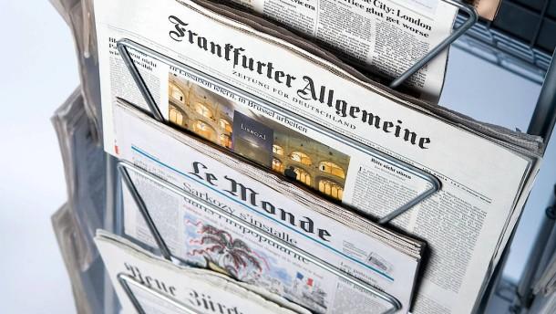 Die Zeitung ist der Kompass