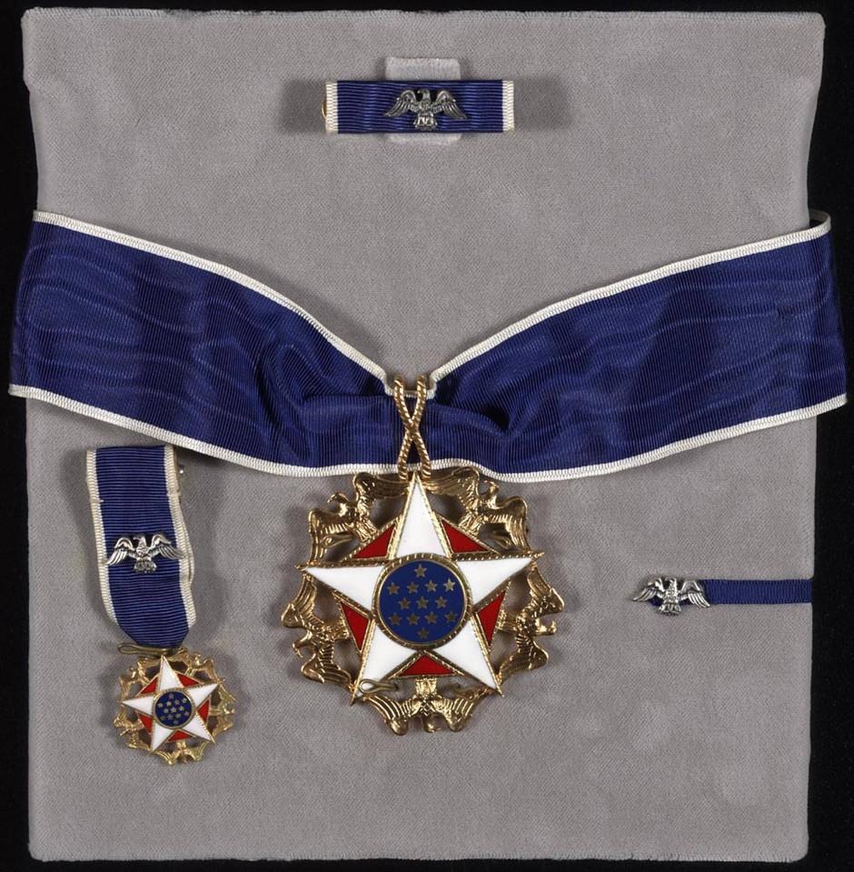 Höchste zivile Auszeichnung der Vereinigten Staaten: die Freiheitsmedaille