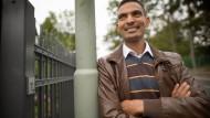 Tewelde Samuel, Flüchtling aus Eritrea, studiert jetzt Bauingenieurwesen an der TU Darmstadt.