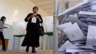 Georgien wählt ein neues Parlament