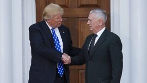 Wird James Mattis Verteidigungsminister?